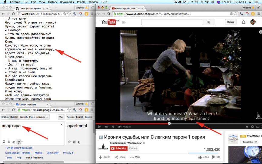 How to Watch Russian films in a 'learning mode'